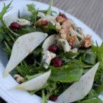 Pear Cranberry Walnut SaladPear Cranberry Walnut Salad