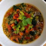 Red Lentil Vegetable Soup  Jeanette&#039;s Healthy Living