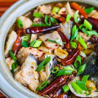 Chinese Szechuan Spicy Fish Soup