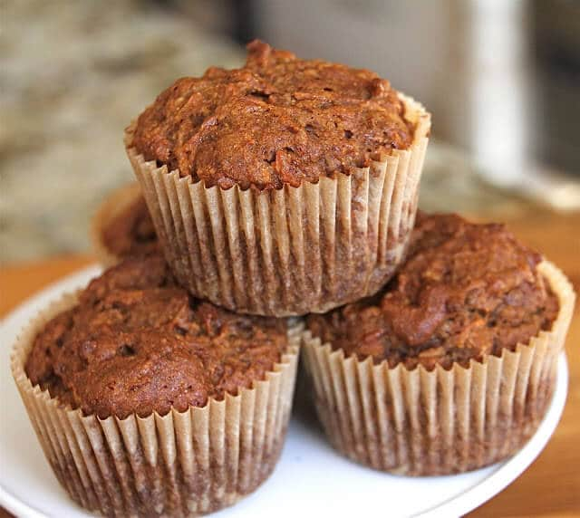 Gluten/Dairy/Egg-Free Carrot Coconut Pineapple Muffins