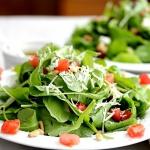 Arugula Tomato Pine Nut Salad