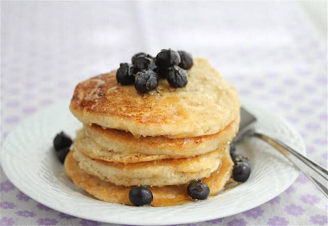 Homemade Gluten/Dairy/Egg-Free (Vegan) Fluffy Pancake Recipe