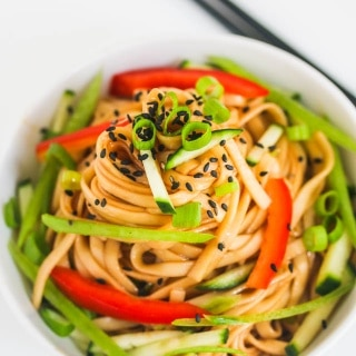 Cold Chinese Sesame Noodles Recipe