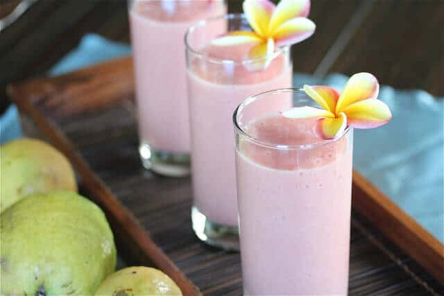 Guava Pineapple Banana Smoothie Recipe