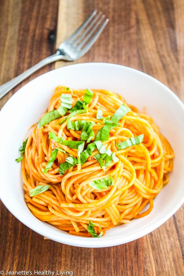 Tomato Paste Pasta - only 3 ingredients - cheap, quick and easy