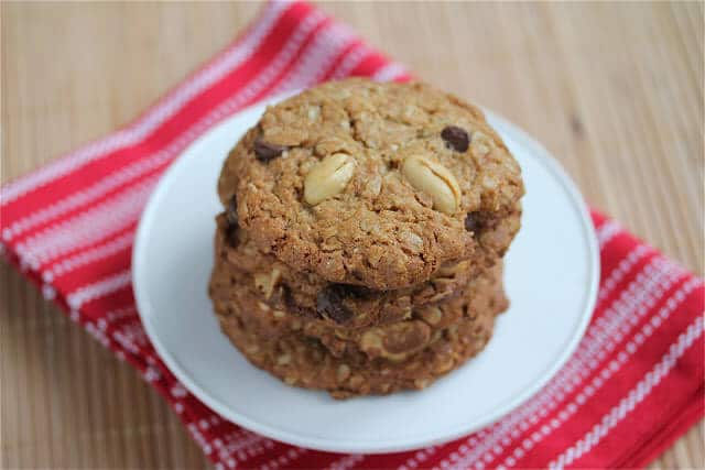 Oatmeal Peanut Chocolate Chip Cookie Recipe
