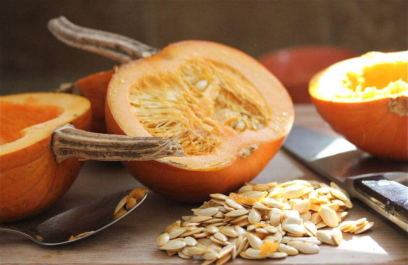 Rub the pumpkin wedges with olive oil, and sprinkle lightly with salt ...