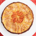 Orange Cake with Pear and Persimmon