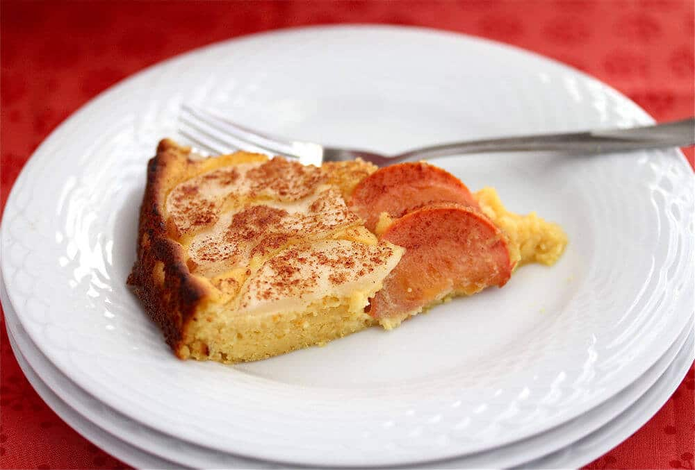 Orange Pear and Persimmon Cake Recipe - Jeanette's Healthy Living