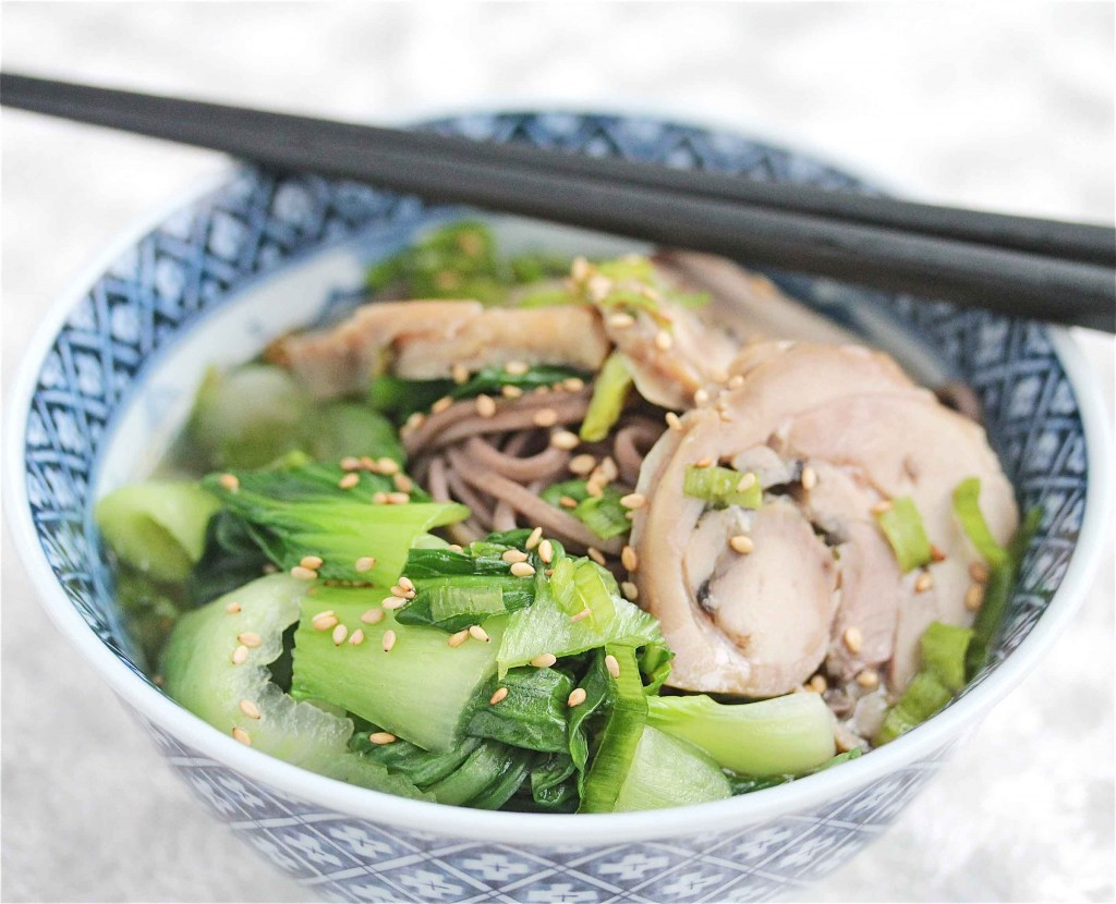 Turkey Soba Noodle Soup Recipe - Jeanette\'s Healthy Living