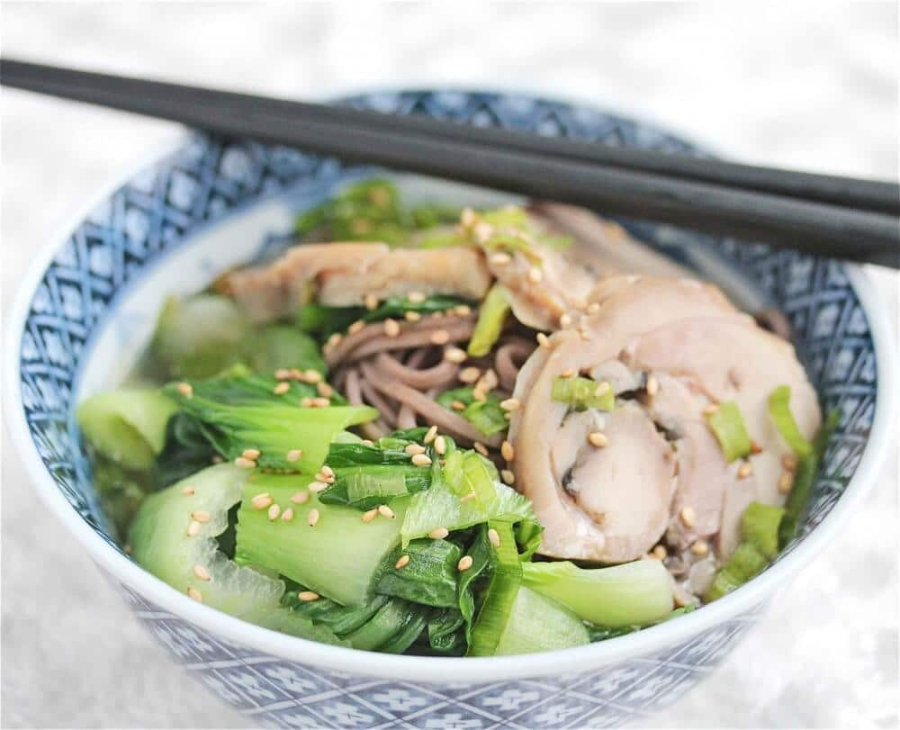 Turkey Soba Noodle Soup Recipe