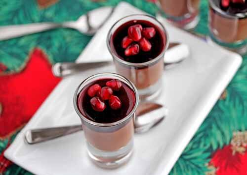 Chocolate Mousse with Pomegranate Gelatin Recipe (Dairy-Free) – 50 ...