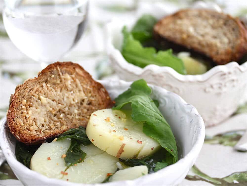 Arugula Potato Soup
