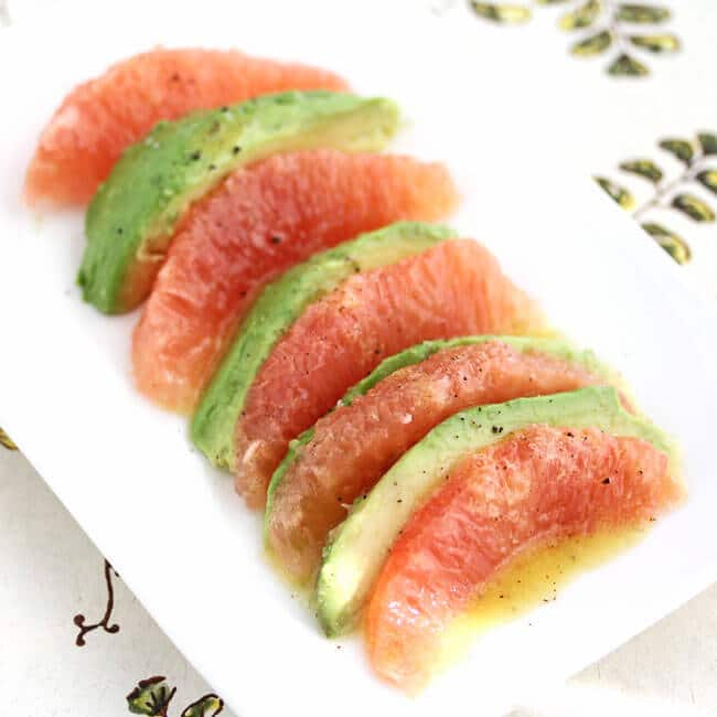 Avocado and Grapefruit Salad Recipe – Ina Garten – 50 Women Game ...