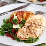 Grilled Chicken with Parsley Salad and Sun-Dried Tomatoes