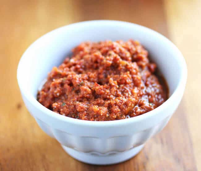 Sun-Dried Tomato Pesto