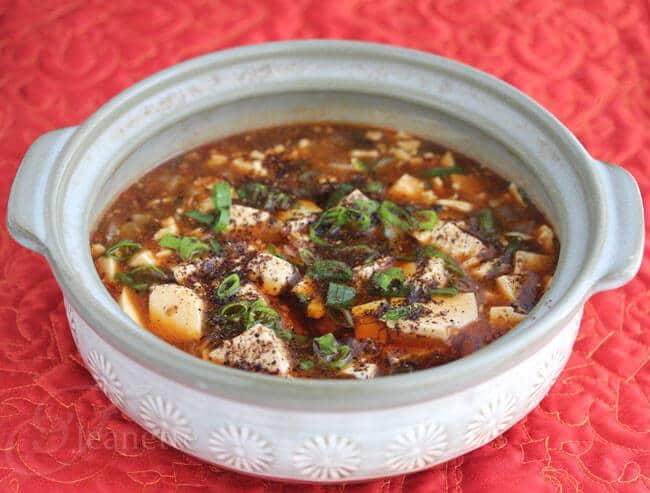 Szechwan Style Ma Po Tofu