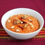 Muhammara (Roasted Red Pepper and Walnut Dip)