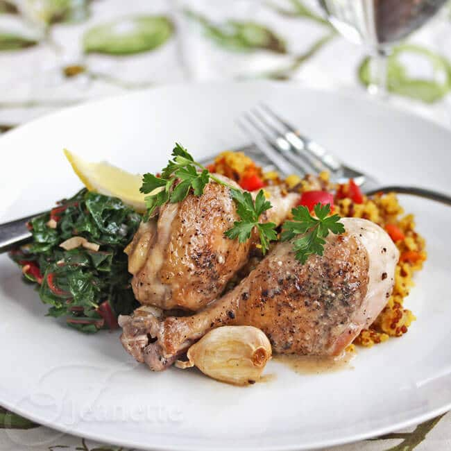 Lyon-Style Chicken with Vinegar Sauce Recipe – April Bloomfield – 50 Women Game Changers In Food