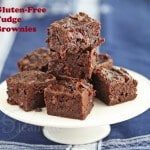 Gluten-Free Double Chocolate Fudge Brownies
