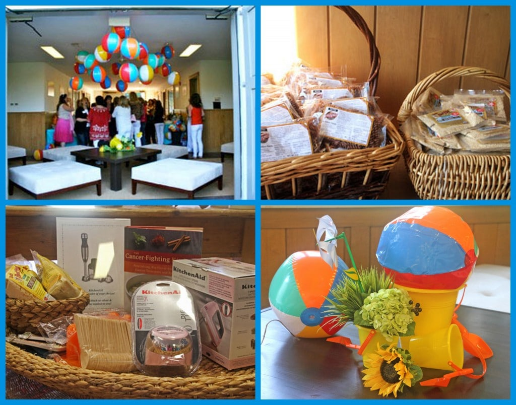 A Beach Themed Girls Night Out Event with some fun Door Prizes and Giveaways