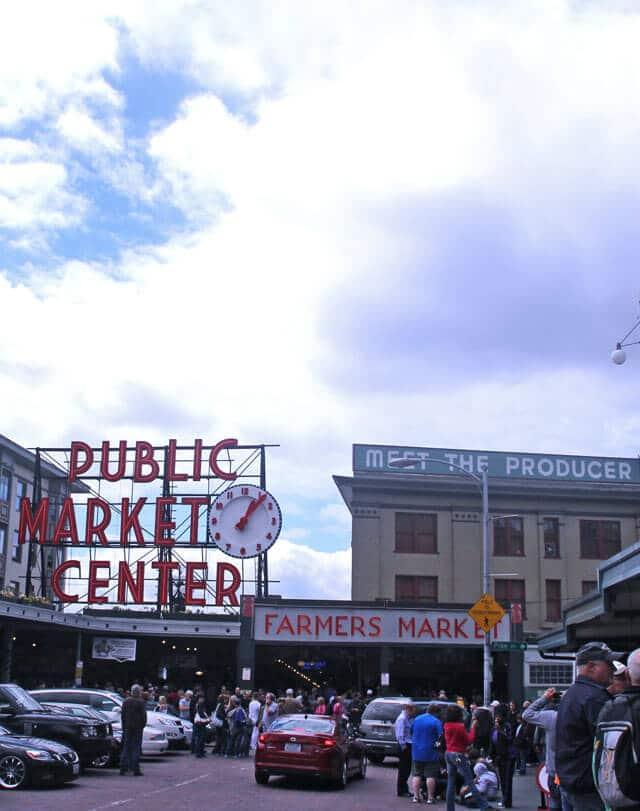 Pike Place Market in Seattle, Washington