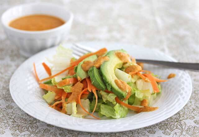 Japanese Carrot Ginger Salad Dressing Recipe (Power Foods)