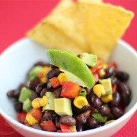 Corn Black Bean Avocado Salsa