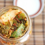 Kale Kimchi in a Jar