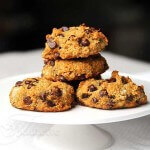 Quinoa Banana Chocolate Chip Cookies (gluten-free, dairy-free, egg-free, vegan)