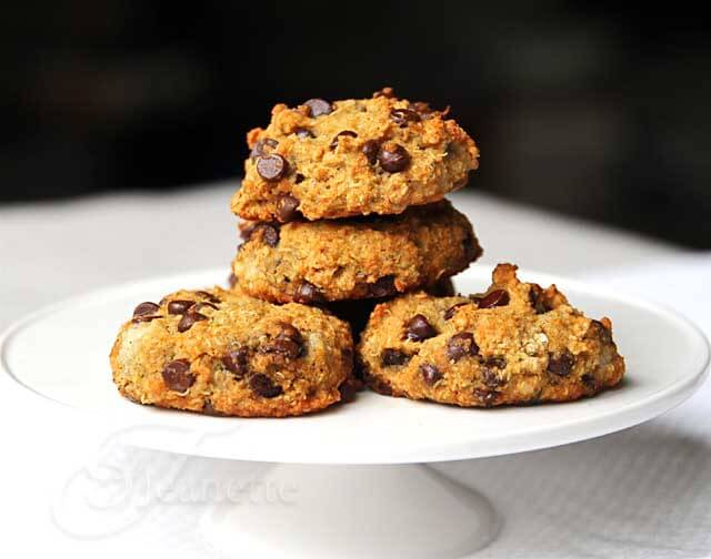 Quinoa Banana Chocolate Chip Cookies