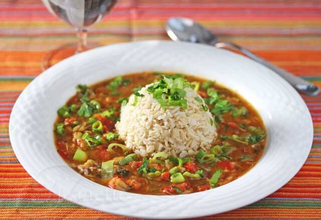 A Healthier Gluten-Free Crawfish and Crab Gumbo Recipe