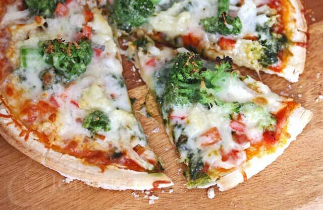 Easy Gluten-Free Vegetable Pizza Recipe (Kids Cooking Video)