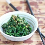 Sesame Spinach Salad
