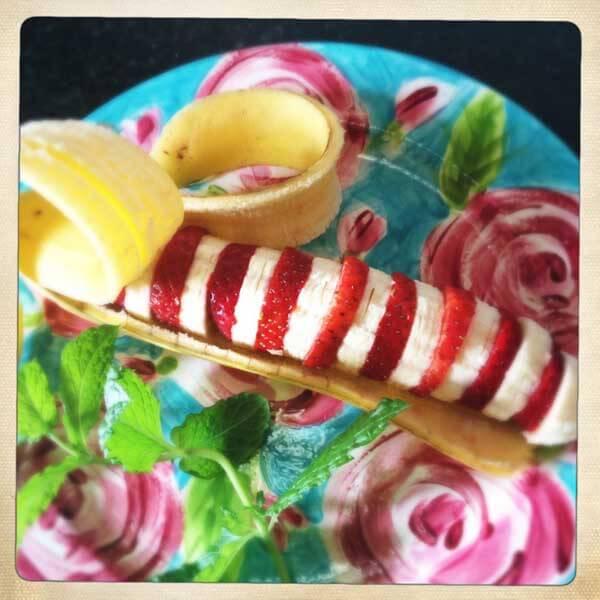 Striped Banana from Slice of Slim