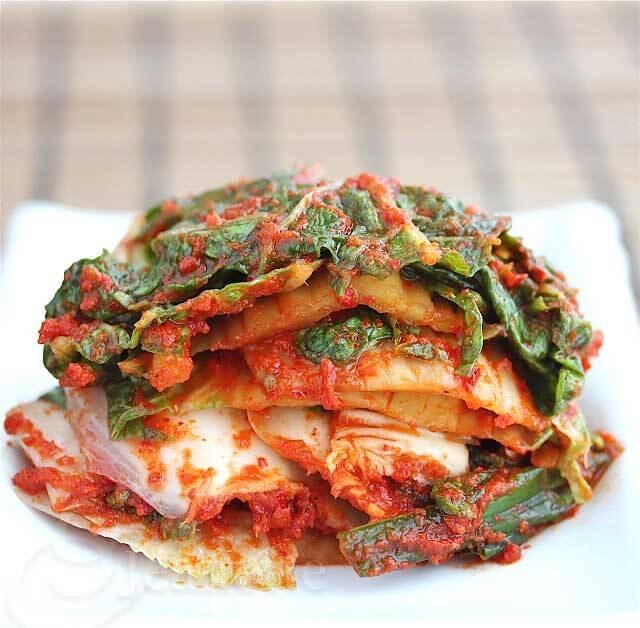 Napa Cabbage Kim Chi