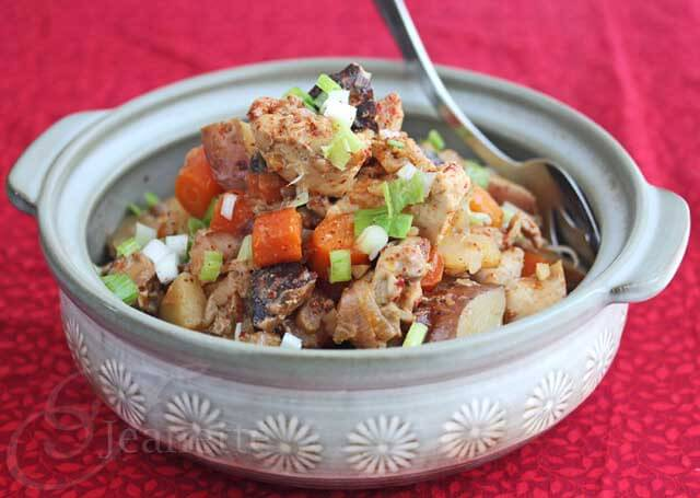 Slow Cooker Asian Chicken Stew