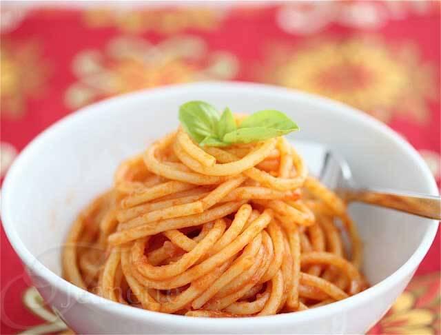 Tomato Paste Pasta