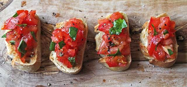 Tomato Bruschetta