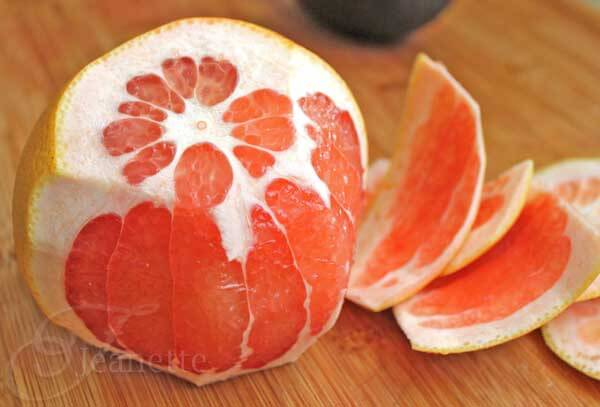 How To Cut Grapefruit Segments - Jeanette's Healthy Living