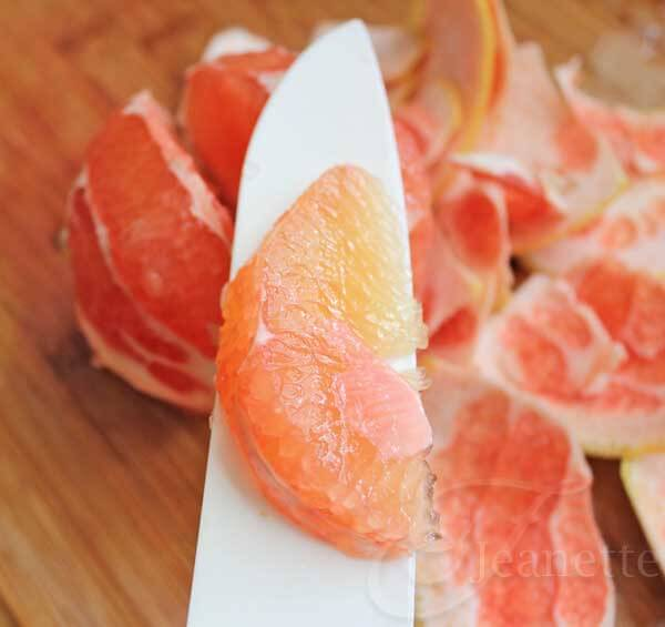 Grapefruit Segment - Jeanette's Healthy Living