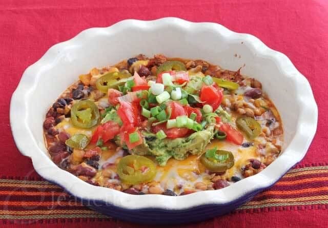 Crockpot Chicken Bean Chili and Chili Cheese Dip
