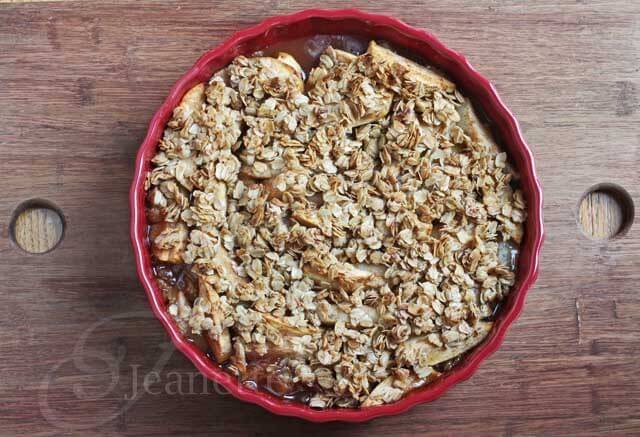 Gluten-Free Pear Apple Crisp