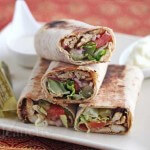 Spiced Shawarma Chicken Wrap