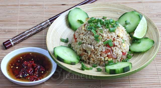 Thai Chili Fish Sauce with Thai Fried Rice