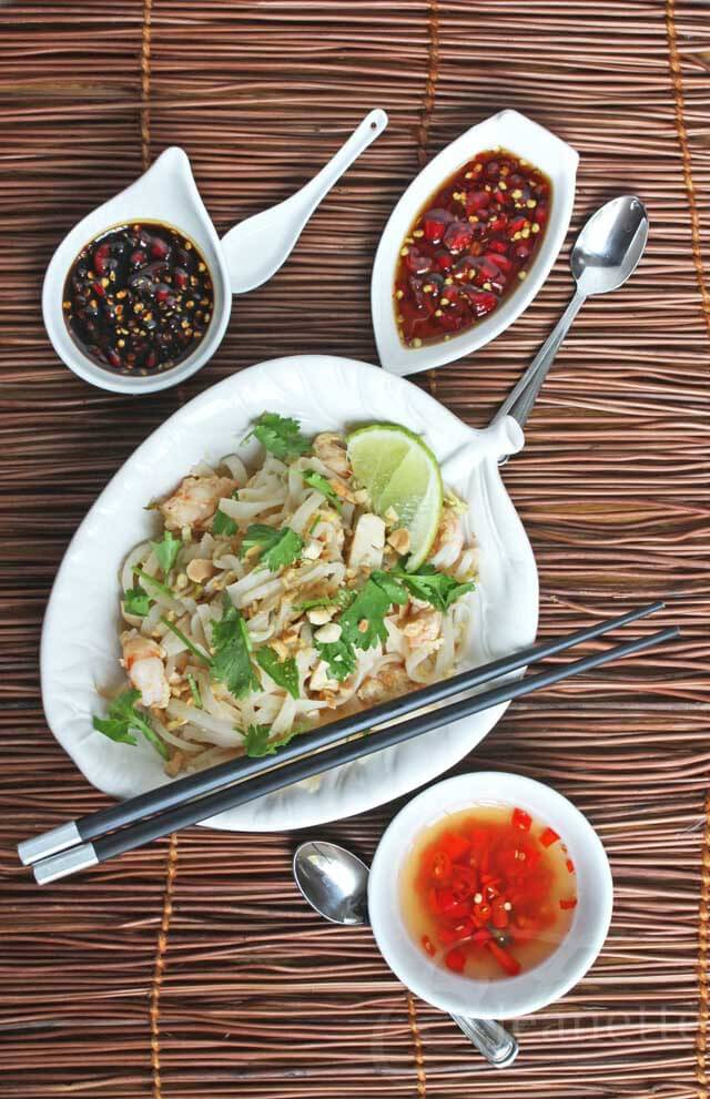 Thai Chili Pepper Sauces and Pad Thai