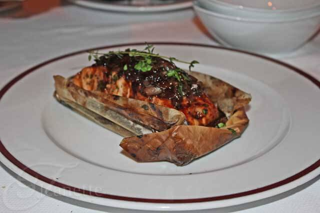 Bar Americain Cedar Planked Pacific Salmon
