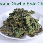 How to make Sesame Garlic Kale Chips on Jeanette&#039;s Healthy Living #kalechips