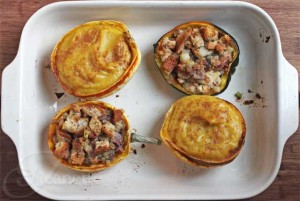 Sweet Spiced Winter Squash Casserole