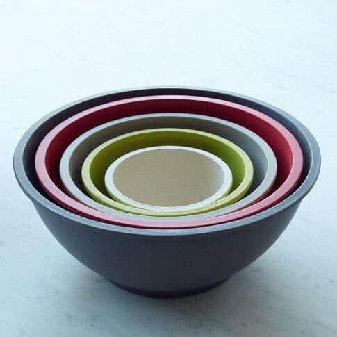 Yumi Eco Solutions Eco-Fiber Bamboo Mixing Bowls